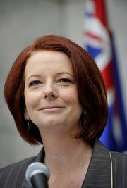 Gillard on the world stage