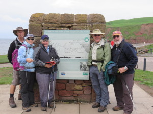 A Coast to Coast odyssey – Stage 1: St Bees to Cleator