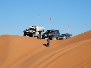 Red Centre holiday: the challenge of the Simpson Desert crossing