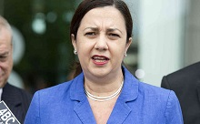 Palaszczuk puts premiership on the line