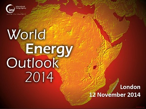 IEA world energy outlook 2014