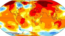 Flirting with 1.5°C as we record 12 hottest months in a row