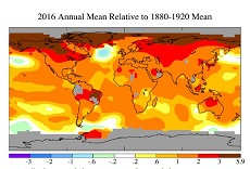Record 2016 heat spells trouble on global scale