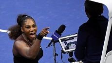 Serena cartoon judged not racist