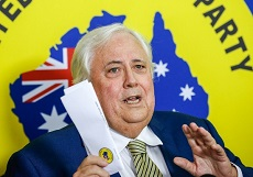 Clive Palmer: a threat to democracy